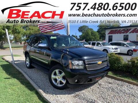 2014 Chevrolet Tahoe for sale at Beach Auto Brokers in Norfolk VA