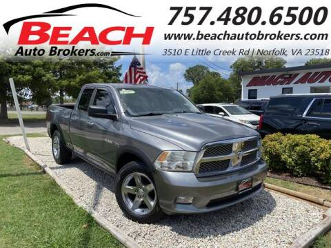 2010 Dodge Ram Pickup 1500 for sale at Beach Auto Brokers in Norfolk VA