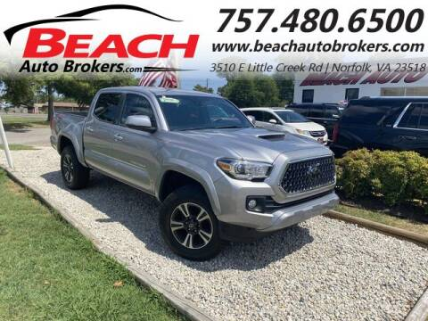 2018 Toyota Tacoma for sale at Beach Auto Brokers in Norfolk VA
