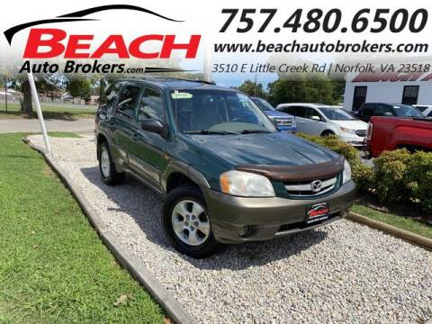 2001 Mazda Tribute for sale at Beach Auto Brokers in Norfolk VA