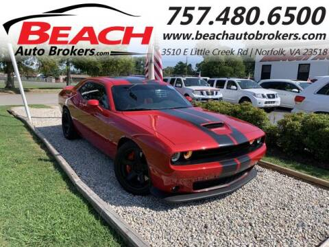 2015 Dodge Challenger for sale at Beach Auto Brokers in Norfolk VA
