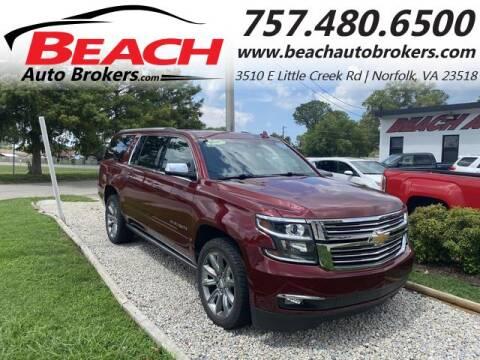 2017 Chevrolet Suburban for sale at Beach Auto Brokers in Norfolk VA