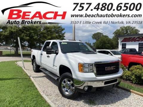 2012 GMC Sierra 3500HD for sale at Beach Auto Brokers in Norfolk VA