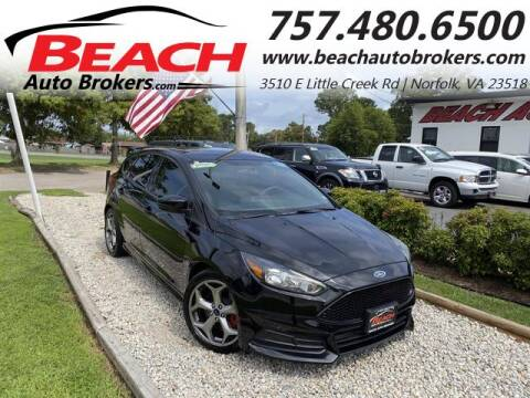 2017 Ford Focus for sale at Beach Auto Brokers in Norfolk VA
