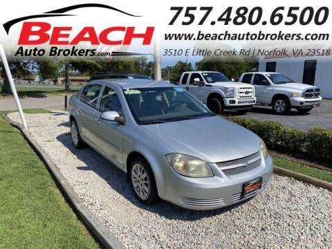 2009 Chevrolet Cobalt for sale at Beach Auto Brokers in Norfolk VA