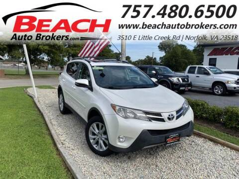 2014 Toyota RAV4 for sale at Beach Auto Brokers in Norfolk VA