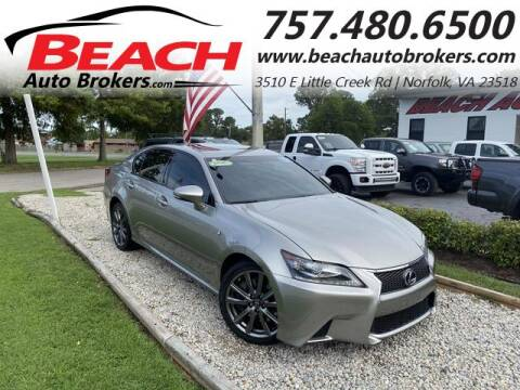 2015 Lexus GS 350 for sale at Beach Auto Brokers in Norfolk VA