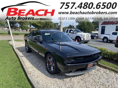 2014 Dodge Challenger for sale at Beach Auto Brokers in Norfolk VA