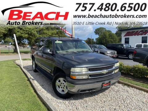 2004 Chevrolet Suburban for sale at Beach Auto Brokers in Norfolk VA