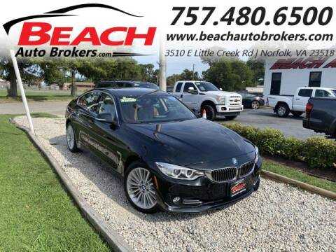 2015 BMW 4 Series for sale at Beach Auto Brokers in Norfolk VA