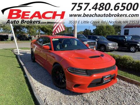 2016 Dodge Charger for sale at Beach Auto Brokers in Norfolk VA