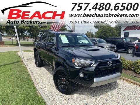 2019 Toyota 4Runner for sale at Beach Auto Brokers in Norfolk VA