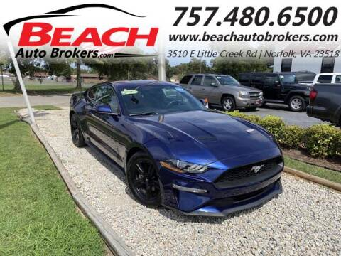 2019 Ford Mustang for sale at Beach Auto Brokers in Norfolk VA