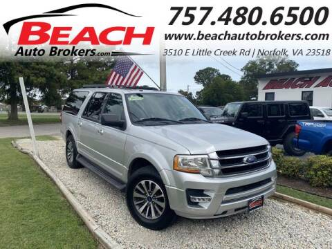 2017 Ford Expedition EL for sale at Beach Auto Brokers in Norfolk VA