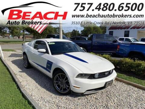 2011 Ford Mustang for sale at Beach Auto Brokers in Norfolk VA