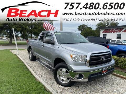 2011 Toyota Tundra for sale at Beach Auto Brokers in Norfolk VA