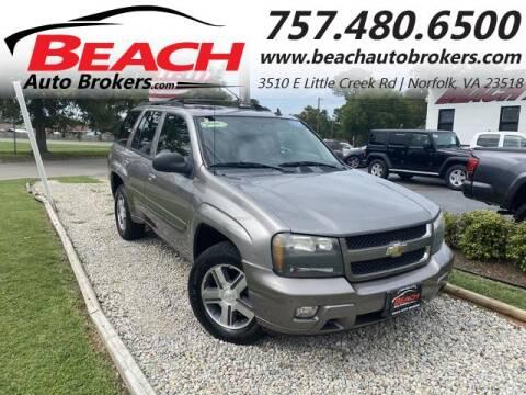 2007 Chevrolet TrailBlazer for sale at Beach Auto Brokers in Norfolk VA