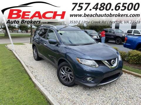 2016 Nissan Rogue for sale at Beach Auto Brokers in Norfolk VA
