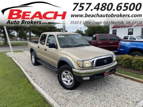 2004 Toyota Tacoma for sale at Beach Auto Brokers in Norfolk VA