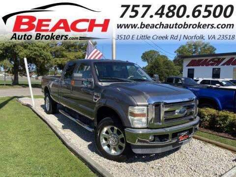 2008 Ford F-350 Super Duty for sale at Beach Auto Brokers in Norfolk VA