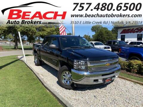 2013 Chevrolet Silverado 1500 for sale at Beach Auto Brokers in Norfolk VA
