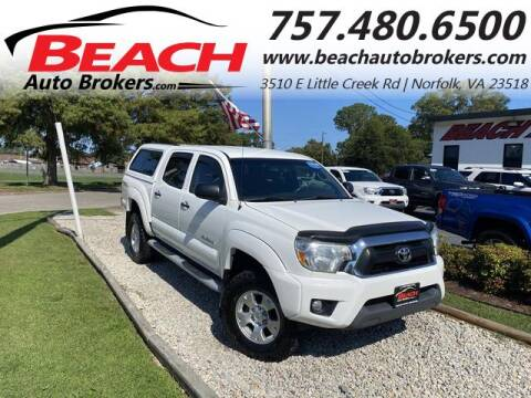2013 Toyota Tacoma for sale at Beach Auto Brokers in Norfolk VA