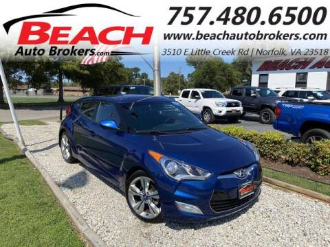 2016 Hyundai Veloster for sale at Beach Auto Brokers in Norfolk VA