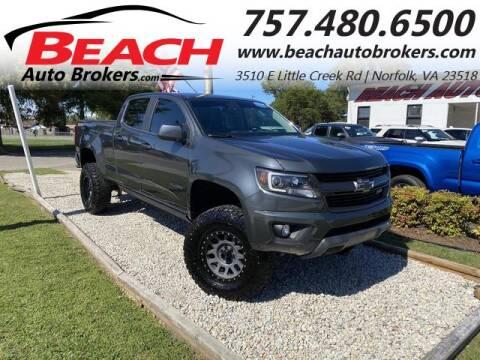 2017 Chevrolet Colorado for sale at Beach Auto Brokers in Norfolk VA