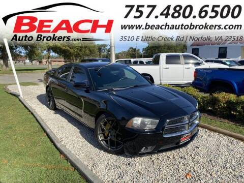 2013 Dodge Charger for sale at Beach Auto Brokers in Norfolk VA