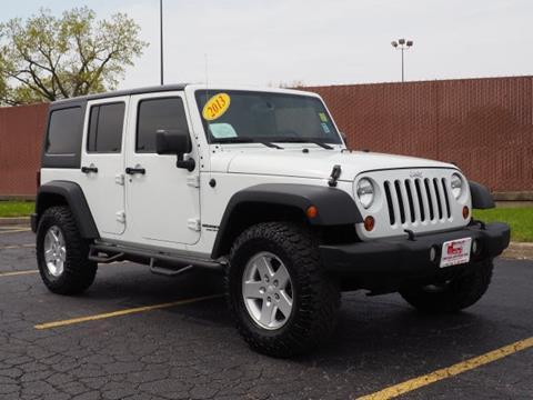 2013 Jeep Wrangler Unlimited for sale in Oak Lawn, IL