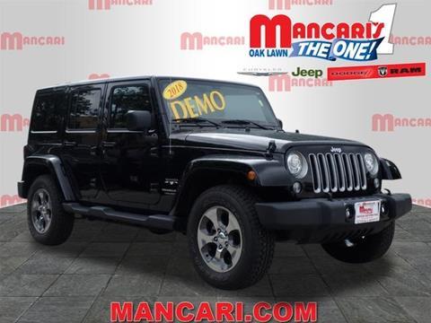 2018 Jeep Wrangler Unlimited for sale in Oak Lawn, IL
