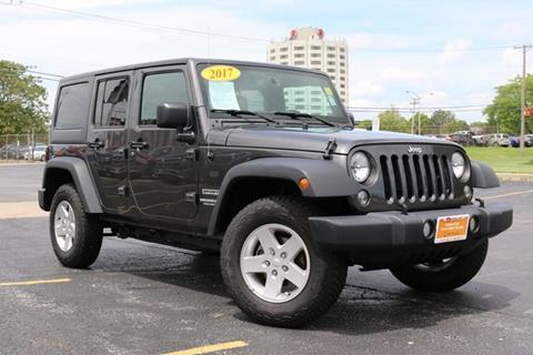 2017 Jeep Wrangler Unlimited for sale in Oak Lawn, IL