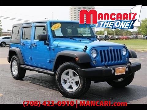 2016 Jeep Wrangler Unlimited for sale in Oak Lawn, IL
