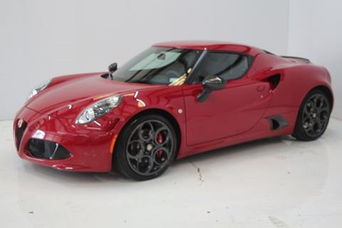2015 Alfa Romeo 4C for sale in Houston, TX