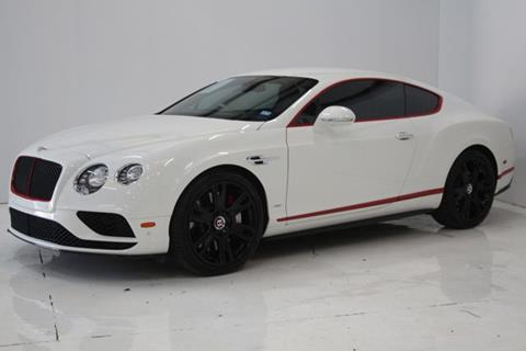 2017 Bentley Continental for sale in Houston, TX