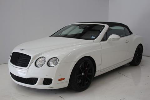 2011 Bentley Continental for sale in Houston, TX