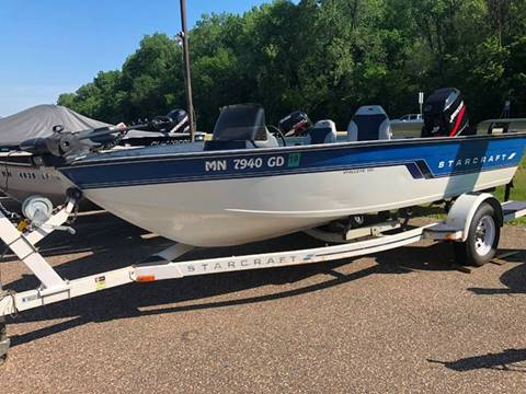 1994 Starcraft fishing boat for sale in Lake City, MN