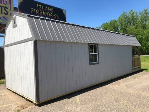 2020 premier lofted barn cabin 12x32 for sale at Triple R Sales in Lake City MN