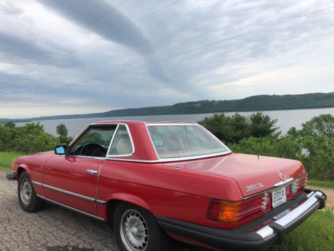 1982 Mercedes-Benz 380-Class 380 SL for sale at Triple R Sales in Lake City MN