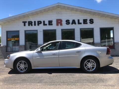 2007 Pontiac Grand Prix GT for sale at Triple R Sales in Lake City MN