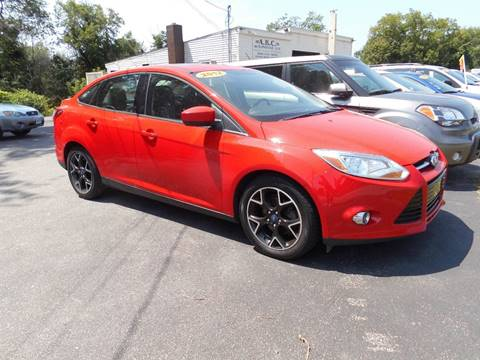 2012 Ford Focus for sale at ABC AUTO LLC in Willimantic CT