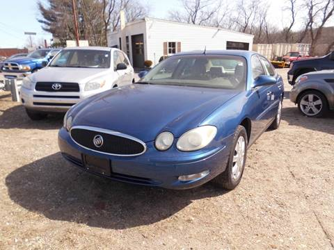 2005 Buick LaCrosse CX for sale at ABC AUTO LLC in Willimantic CT