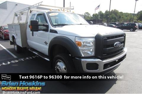 2013 Ford F-450 Super Duty for sale in Coatesville, PA