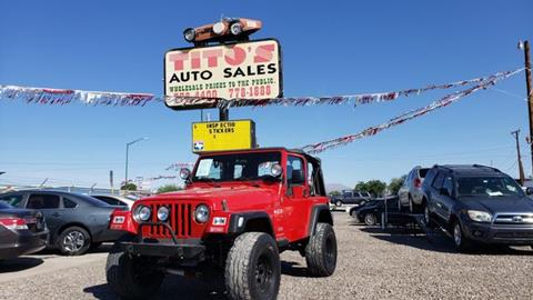 2006 Jeep Wrangler for sale in El Paso, TX