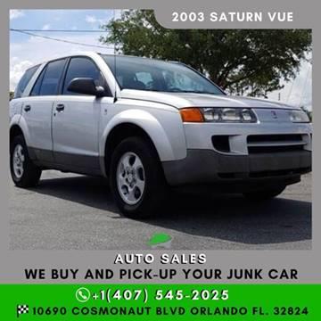 2003 Saturn Vue for sale in Orlando, FL
