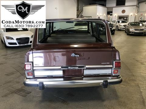 1981 Jeep Wagoneer for sale in Burr Ridge, IL
