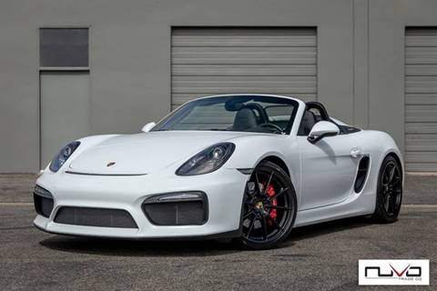 2016 Porsche Boxster for sale in Newport Beach, CA