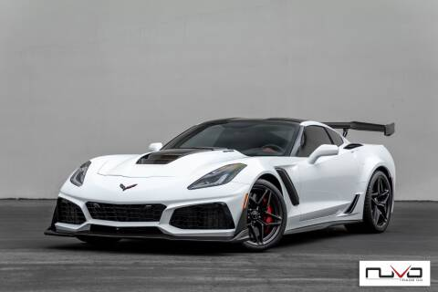 2019 Chevrolet Corvette for sale at Nuvo Trade in Newport Beach CA