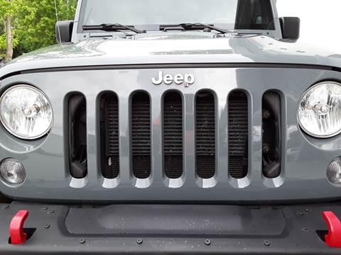 2014 Jeep Wrangler Unlimited for sale in Fortville, IN