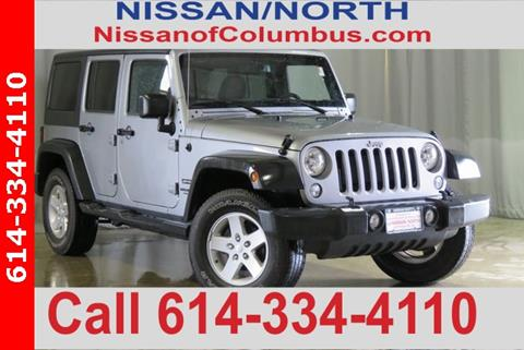 2016 Jeep Wrangler Unlimited for sale in Columbus, OH